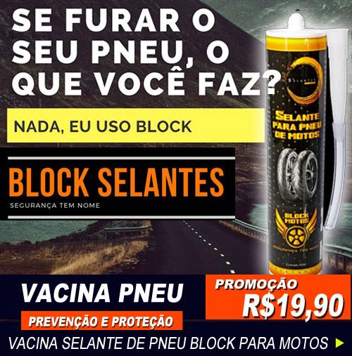 Vacina Selante de Pneu Block para Motos