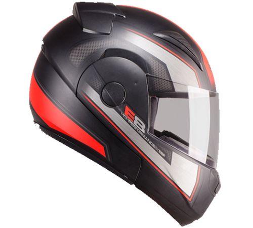Capacete-EBF-E08-New-Escamoteavel-Performance-Fosco-Vermelho