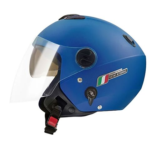 Capacete-Tork-New-Atomic-Elite-Azul-Fosco