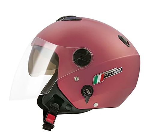 Capacete-Tork-New-Atomic-Elite-Rosa-Fosco