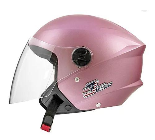 Capacete-Tork-New-Liberty-3-Elite-Rosa-Fosco