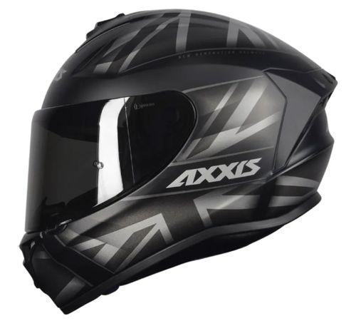 Capacete-Axxis-Draken-UK-Fosco-Preto-Cinza-1