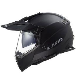 Capacete-LS2-MX436-Pionner-Evo-Preto-Fosco-1