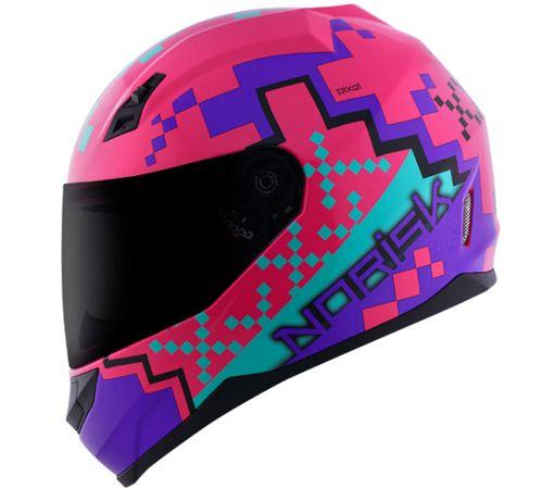 Capacete-Norisk-FF391-Pixel-Rosa-Roxo-Azul-5