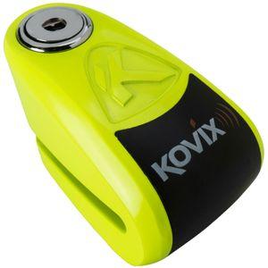 Trava-De-Disco-Com-Alarme-Kaz10-Fg-Verde-Fluorescente-Kovix-1