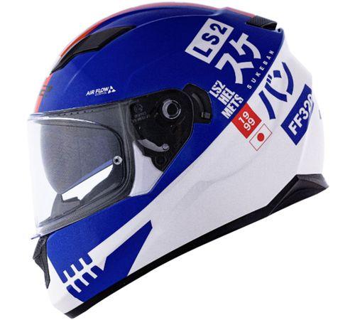 Capacete-LS2-FF320-Stream-Sukeban-Branco-Azul-Vermelho-4