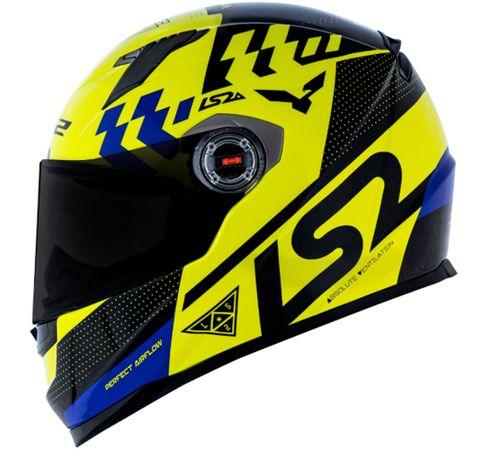 Capacete-LS2-FF358-Podium-Amarelo-Preto-Azul-4