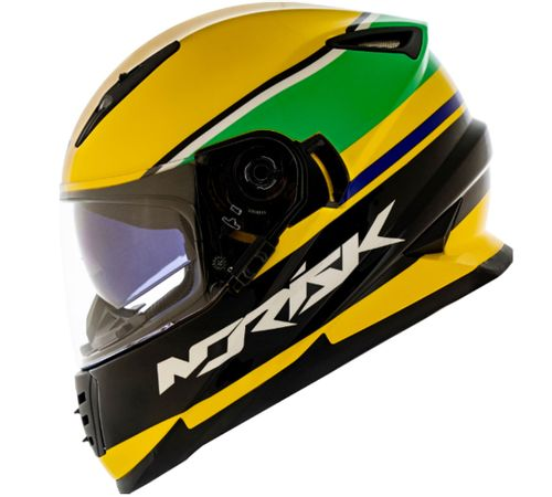 Capacete-Norisk-FF302-Champion-Amarelo-4
