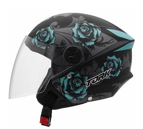 Capacete-Pro-Tork-New-Liberty-3-Flowers-Fosco-Azul-Preto-1