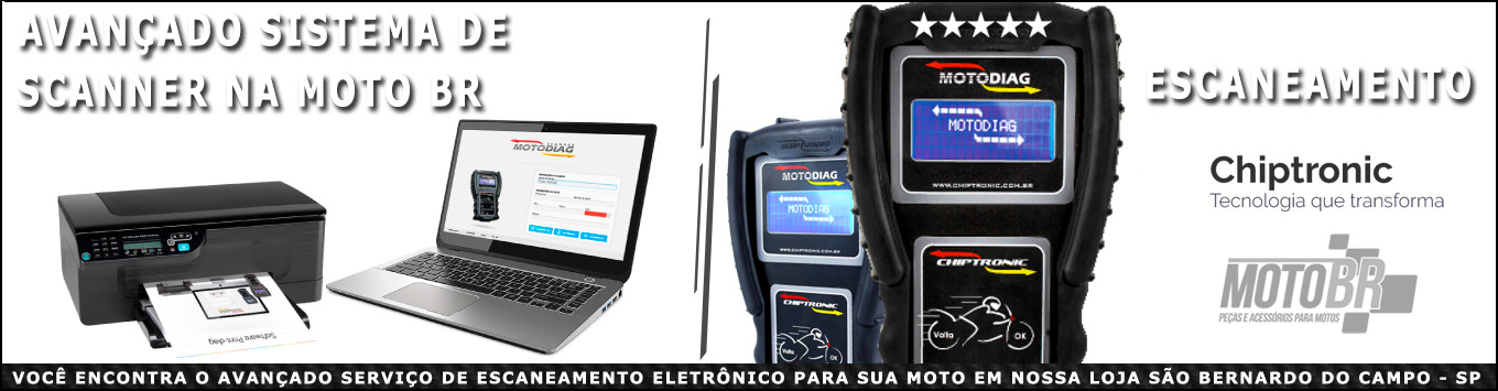 Scaneamento Motodiag Chiptronic