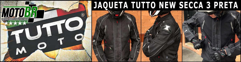 Jaqueta Tutto New Secca 3 Preta